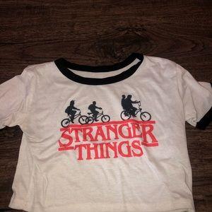 Strangers things Crop Top